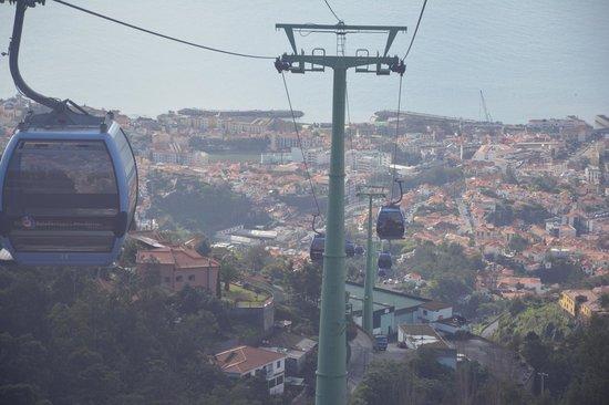 Téléphérique de Funchal : Teleférico do Monte