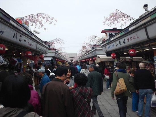 Senso-ji Temple: 仲見世