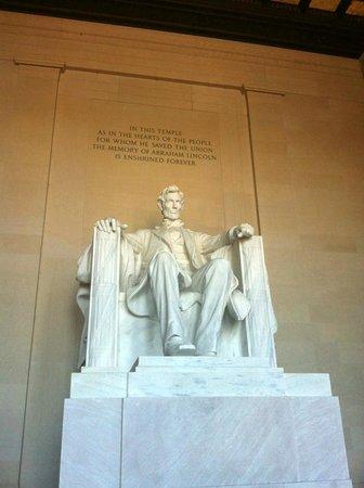 Lincoln Memorial e Espelho D'Água