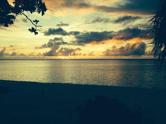 Pacific Resort Aitutaki : Sunset