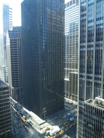 New York Hilton Midtown: This was our view from the 22nd floor