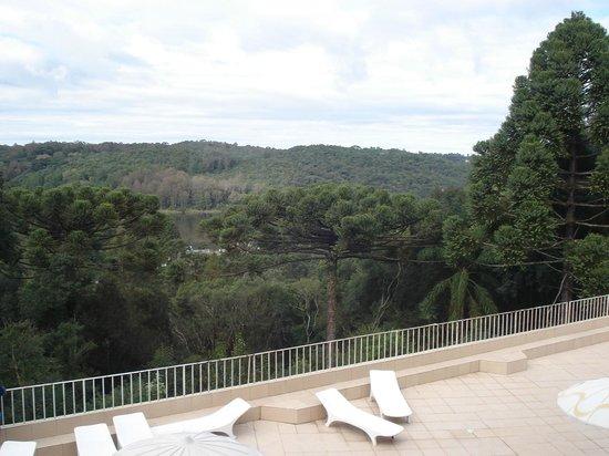Samuara Hotel : Terraza