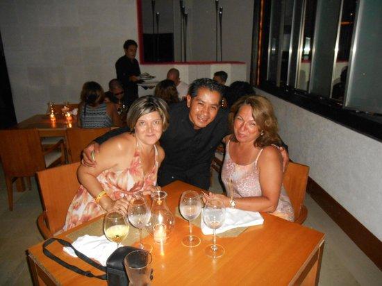 ME Cancun : Efraim simpático