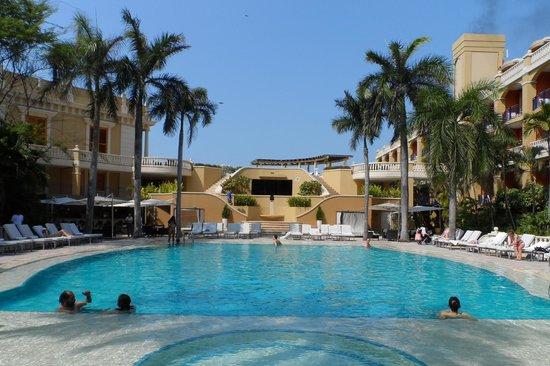 Bovedas de Santa Clara Hotel Boutique: La piscina del Hotel Santa Clara