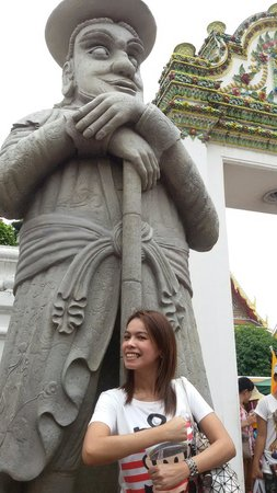 Wat Pho (Templo de Buda reclinado): ตุ๊กตาจีน มาโคโปโล