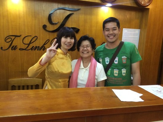 Tu Linh Palace Hotel 2: With Ms. May!