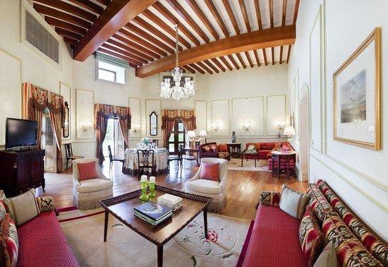 Taj Falaknuma Palace: Nizam Suite