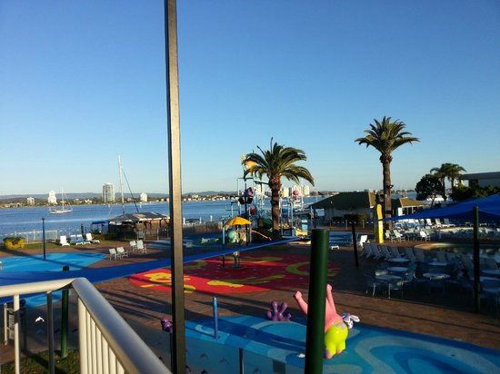 Sea World Resort: View from Room 2029