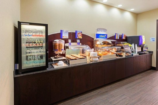 Holiday Inn Express & Suites Duncan: Breakfast Bar