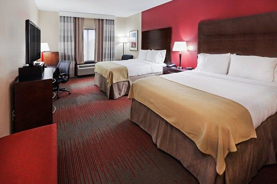 Holiday Inn Express & Suites Duncan: Double Bed Guest Room