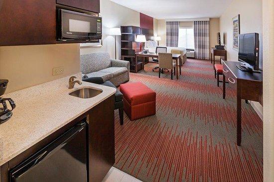 Holiday Inn Express & Suites Duncan : Elegant King Suite