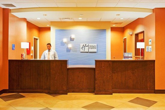 Holiday Inn Express & Suites Duncan: Reception