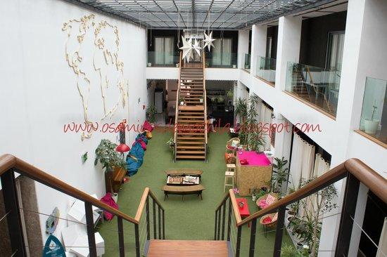 Lisbon Destination Hostel : Area Comum