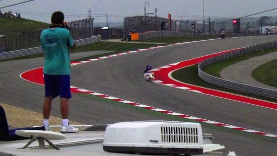 Circuit of The Americas : View from Haywood's Hill