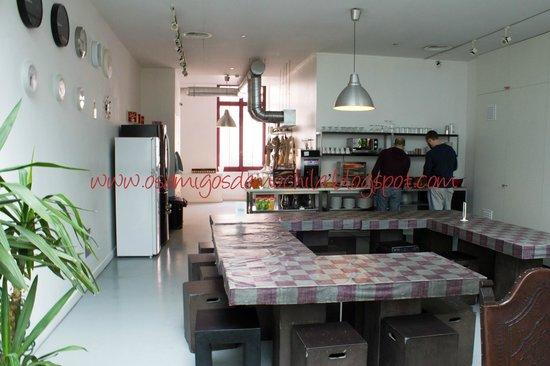 Lisbon Destination Hostel : Cozinha