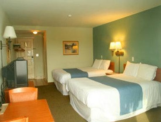 Finger Lakes Hotel: Two Queen Bed Room