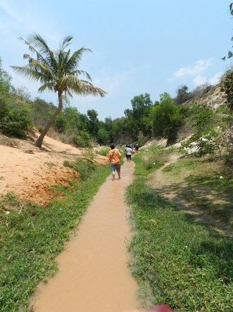 Fairy Stream (Suoi Tien): Wading along the stream
