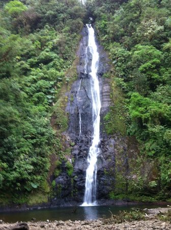 El Silencio Lodge & Spa: One of the waterfalls on the hike of the reserve