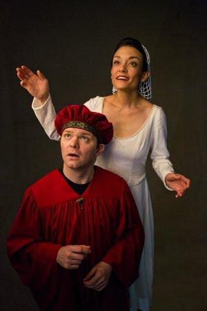 The Rogue Theatre : Beatrice and Dante in Purgatorio April 2014