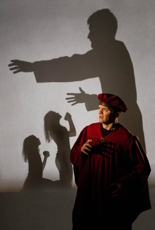 The Rogue Theatre : Shadow play in Purgatorio April 2014