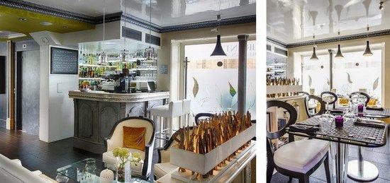 Hotel Eiffel Trocadero : Restaurant Bar Lounge