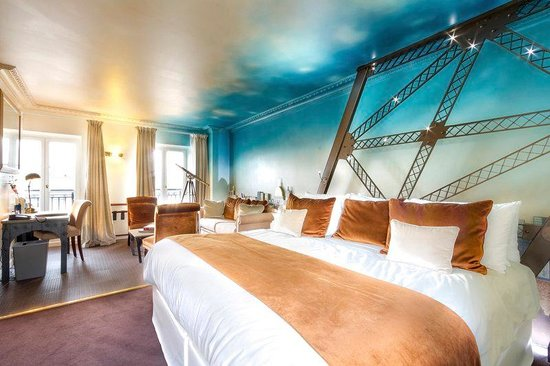 Walking Distance To Eiffel Tower Review Of Hotel Trocadero Paris France Tripadvisor