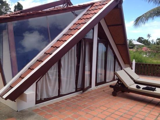 Laguna Villas: rooftop balcony