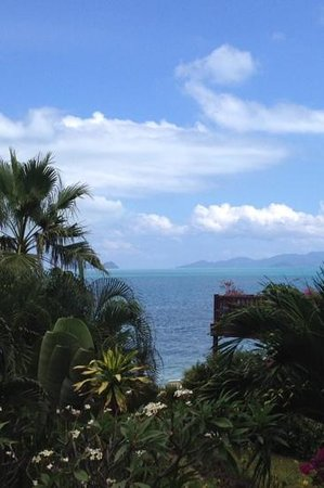 Laguna Villas: seaview from balcony
