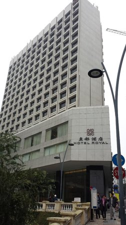 Hotel Royal Macau: The hotel