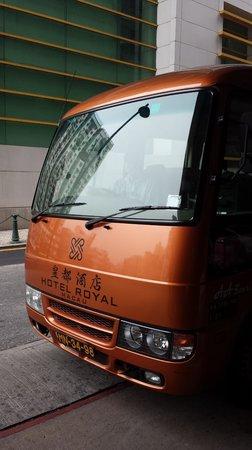 Hotel Royal Macau : The shuttle bus