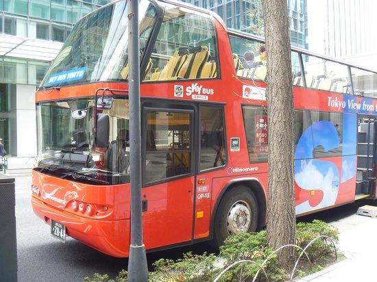 Sky Bus Tokyo: 近影