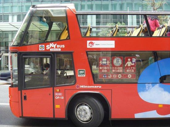 Sky Bus Tokyo: サイドビュー