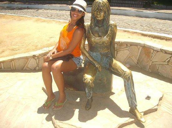Brigitte Bardot Statue : Minha lembrança de Buzios!