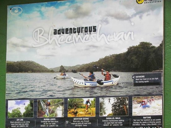 Jungle Lodges - Bheemeshwari Nature & Adventure Camp: All the activities they have within the JLR