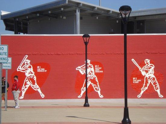 Bowling Green Ballpark: Batting Mural