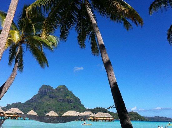 Bora Bora Pearl Beach Resort & Spa: View from beach bungalow