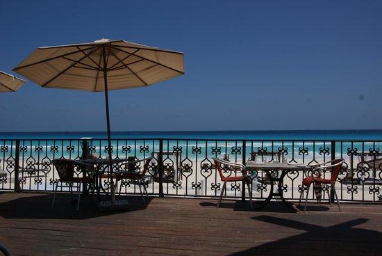 Hyatt Zilara Cancun: view from Pelicanos