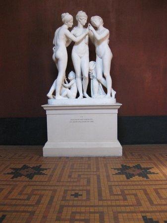Thorvaldsens Museum: De tre Gratier
