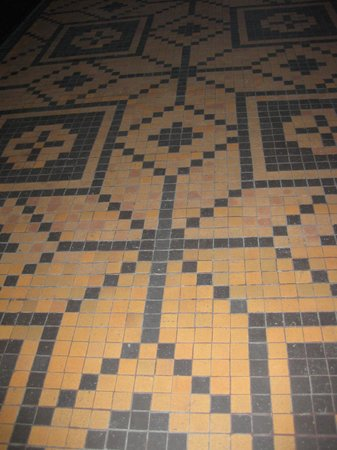 Thorvaldsens Museum: Mosaik gulv