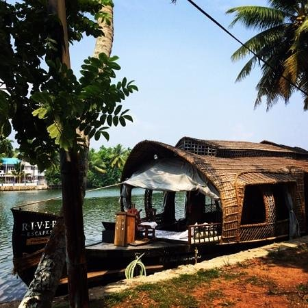 Xandari Riverscapes: our boat -Pamba