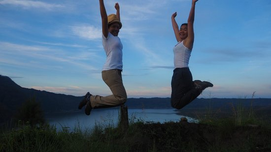 Bali Trekking Tour - Day Tours: Yey! we made it :-)