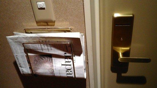 Sheraton Miyako Hotel Tokyo: Утренняя почта