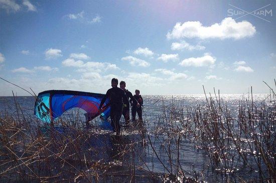 Surf Farm - Kite.Sup.All: perfect kitesurf day
