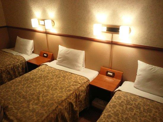 Atami Hotel Paipuno Kemuri : triple beds