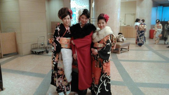 ANA Crowne Plaza Hotel Kanazawa : Приятный персонал