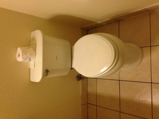 Econo Lodge Bay Breeze : Toilet