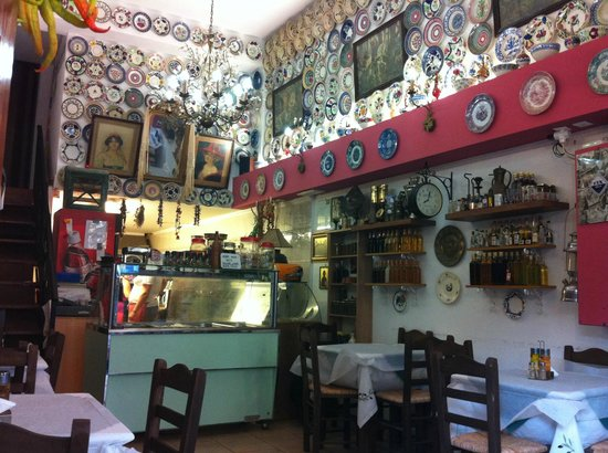 Boukia Boukia: The inner restaurant and kitchen where you choose your meal.