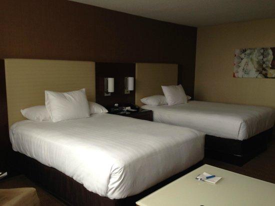 Hyatt Regency O'Hare : Double beds