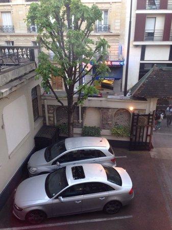 Hotel Regent's Garden: Carparking