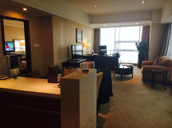 Grand Mercure Shenzhen Oriental Ginza: i love this living room